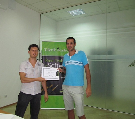 Web Front-End Development Certificates 2011