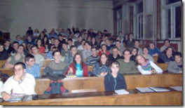 Студентите на Наков във ФМИ