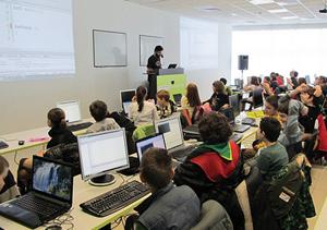 Морска лагер-школа по програмиране за деца: 25 август – 5 септември 2013, Китен