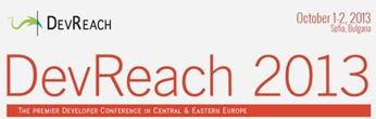 DevReach 2013 - най-голямата конференция за софтуерни инженери в югоизточна Европа