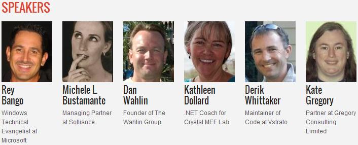 DevReach 2013 - лектори