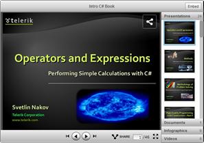 Free C# programming teaching resources by Svetlin Nakov