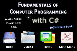 Fundamentals of Programming with C#: Free Book, Videos