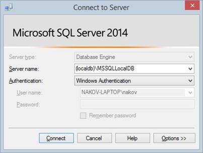 Database Apps, Entity Framework, SQL Server, XML & JSON