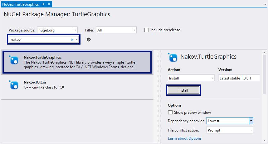 Turtle Graphics  NET – C# Open Source Library | Svetlin