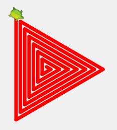 triangle-spiral