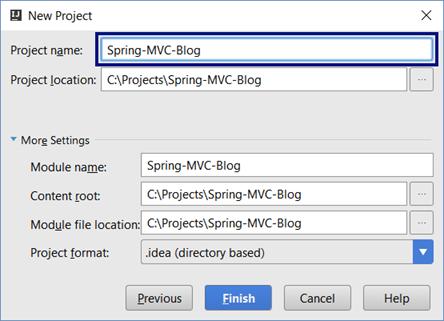 Creating a Blog System with Spring MVC, Thymeleaf, JPA and MySQL