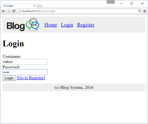 Creating a Blog System with Spring MVC, Thymeleaf, JPA and