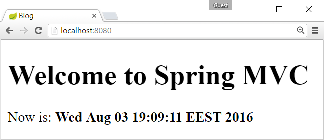 Creating a Blog System with Spring MVC, Thymeleaf, JPA and MySQL
