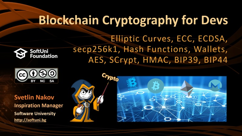 Blockchain Cryptography for Developers: ECC, secp256k1